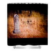 Graveyard 6792 Shower Curtain