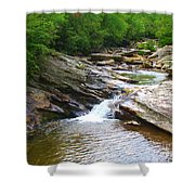 Graveyard Falls Shower Curtain
