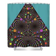 Gravity And Magnetism Shower Curtain