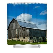 Gray Barn Shower Curtain