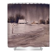 Gray Day Shower Curtain