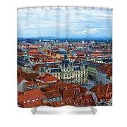 Graz Old Town Shower Curtain