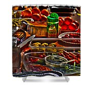 Grazing Table 2 Shower Curtain