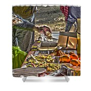 Grazing Table Shower Curtain