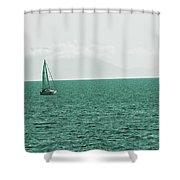 Grean Murchant Shower Curtain
