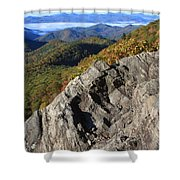 Great Balsam Mountains - Blue Ridge Parkway Shower Curtain