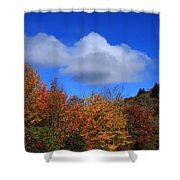 Great Balsam Mountains In The Fall Shower Curtain