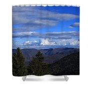 Great Balsam Mountains-north Carolina Shower Curtain