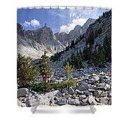 Great Basin National Park Shower Curtain