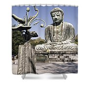 Great Buddha Of Kamakura 2 - Japan  Shower Curtain