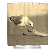 Great Catch With Fish Shower Curtain