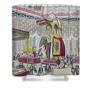 Great Exhibition, 1851 Indian Shower Curtain