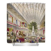 Great Exhibition, 1851 South Transept Shower Curtain