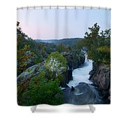Great Falls Md Hdr 2 Shower Curtain