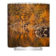 Great Falls National Park Shower Curtain
