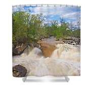 Great Falls White Water #5 Shower Curtain