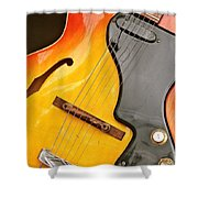 Great Guitars Shower Curtain