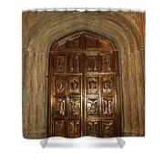 Great Hall Entrance Door Shower Curtain