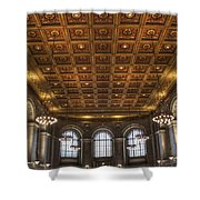 Great Hall St. Louis Central Library Shower Curtain