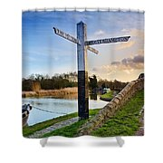 Great Haywood Junction Shower Curtain