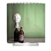 Great Head Shower Curtain