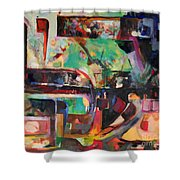 Great Is Peace Shower Curtain