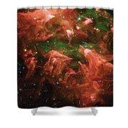 Great Nebula In Carina Shower Curtain