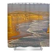 Great Ocean Road #4 Shower Curtain