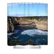 Great Ocean Road, Australia - Panoramic Shower Curtain