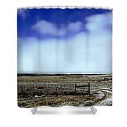 Great Plains Winter Shower Curtain