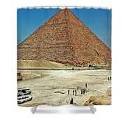 Great Pyramid Of Giza Shower Curtain