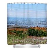 Great Salt Lake Shower Curtain