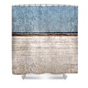 Great Salt Plains Shower Curtain