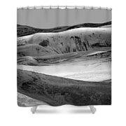Great Sand Dunes - 1 - Bw Shower Curtain