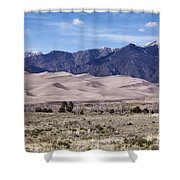 Great Sand Dunes Shower Curtain