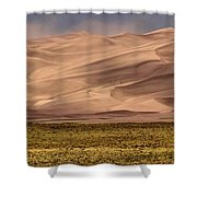 Great Sand Dunes In Colorado Shower Curtain