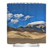 The Great Sand Dunes National Park 2 Shower Curtain