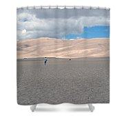 Great Sand Dunes Park Shower Curtain
