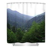 Great Smokey Mountains Shower Curtain