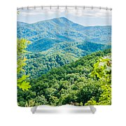 Great Smoky Mountains National Park Near Gatlinburg Tennessee. Shower Curtain