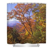 Great Smoky Mts From Blue Ridge Pkwy Shower Curtain
