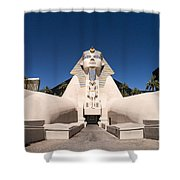Great Sphinx Of Giza Luxor Resort Las Vegas Shower Curtain