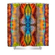 Great Spirit Abstract Pattern Artwork By Omaste Witkowski Shower Curtain