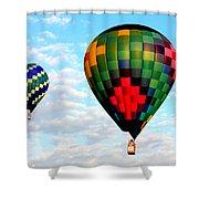 Great Texas Balloon Races Shower Curtain