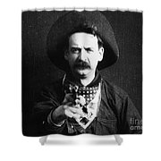 Great Train Robbery 1903 Shower Curtain