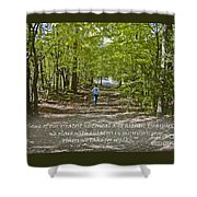 Great Treasures Shower Curtain by Sandra Clark