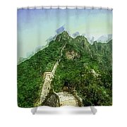 Great Wall 0033 - Academic Sl Shower Curtain