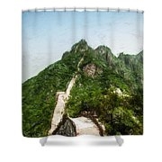 Great Wall 0033 - Acanthus Shower Curtain