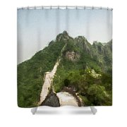 Great Wall 0033 - Neo Shower Curtain