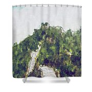 Great Wall 0033 - Plein Air 2 Sl Shower Curtain